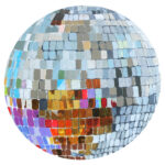 Disco Ball Painting