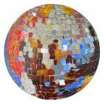 Hustle disco ball painting by Ashley Treece
