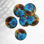 disco ball stickers by Ashley treece